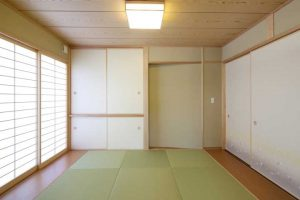 国産畳の和室