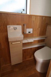 リノベーションオークトイレ