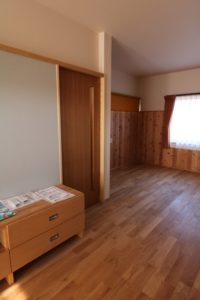 リノベーション寝室