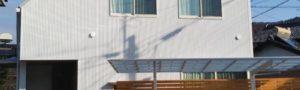 白い可愛いお家